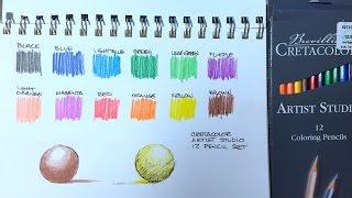 Cretacolor - Colored Pencils Review
