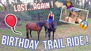 Horseback Riding For My Birthday !