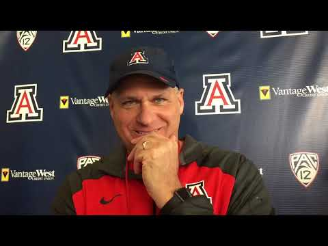 Watch: RichRod on Khalil Tate, Oregon's defense, Schooler brothers, relationship with Willie Taggart