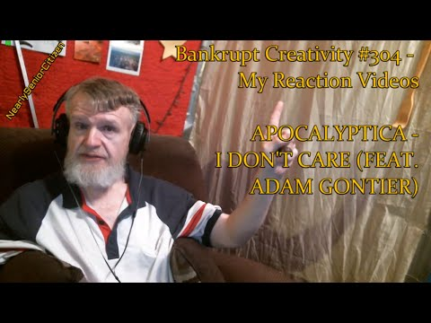 APOCALYPTICA  I DONT CARE : Bankrupt Creativity #304  My Reaction s