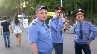 полиция города Хабаровска борется с курением в общественных местах