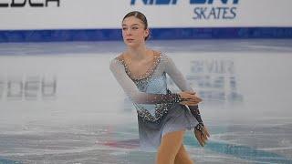 Анна Фролова ПП Первенство 2021 Anna Frolova FP Junior Nationals 2021
