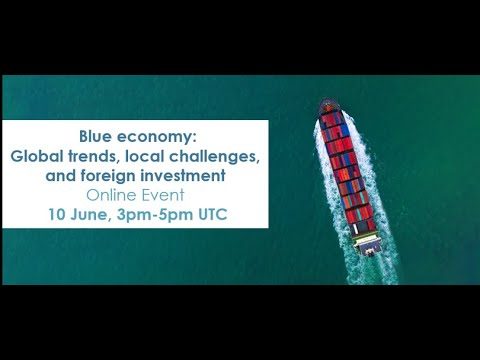 Blue Economy: Global Trends, Local Challenges, and International Investment