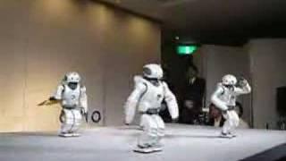 Dancing Japanese Robots