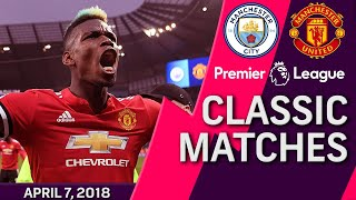 Download Man City v. Man United I PREMIER LEAGUE CLASSIC MATCH I 4/7/18 I NBC Sports Mp3 and Videos
