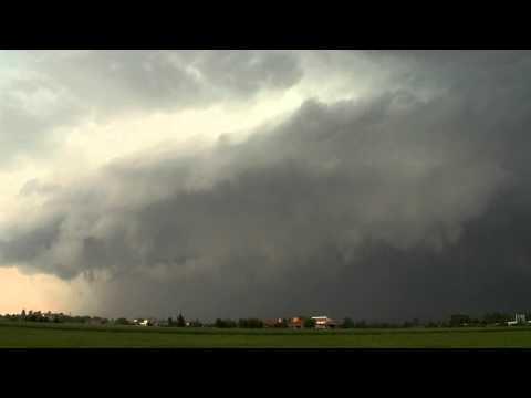 Shelf cloud 26 agosto 2012
