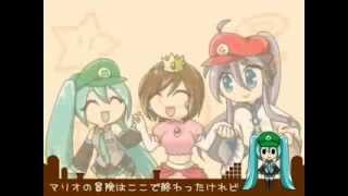 Miku Hatsune PV   GO GO MARIO!! 【VOCALOID】English Sub