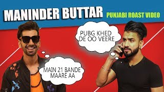 Maninder Buttar | Sakhiyaan | New punjabi Song Roast Video | Aman Aujla