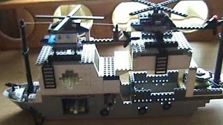 "Корабль разведки ""Прибалтика"" из LEGO"