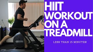 HIIT Workout on a Treadmill | Fat Burning Workout