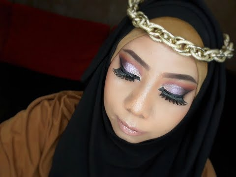 Arabian Glam makeup