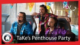 Karibische Starcraft-Atmosphäre mit TaKe und NarutO | TaKe's Penthouse Party 2 Highlights | TaKeTV