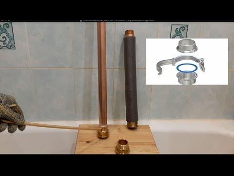 Ректификационная колонна. Ч. 6.  Кламп или резьба.  Доохладитель.