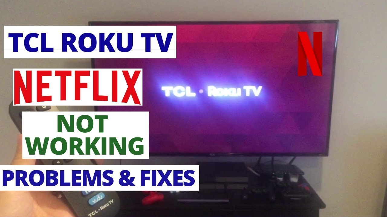 How to fix NETFLIX not working on TCL TV | Common TCL TV Problems & Fixes