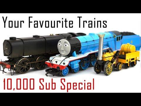 Sam'sTrains 10,000 Sub Special: Your Favourite Steam Trains