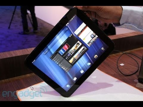 HP webOS TouchPad, Pre 3 and Veer First Look