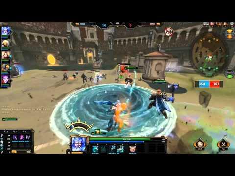 видео: smite .№1 коротенько об игре и режим арены.