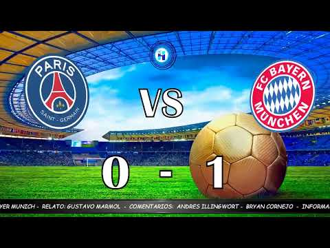 Final De Champions Psg Vs Bayer Munich 23 08 20 Youtube