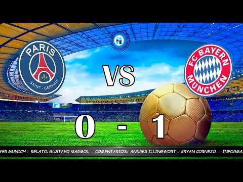 Final De Champions Psg Vs Bayer Munich 23 08 20 Youtube