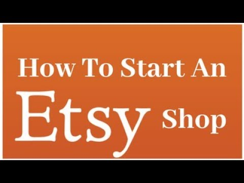 How To Start An Etsy Shop - Etsy Business Shop Tips - Selling On Etsy - Become An Etsy Seller