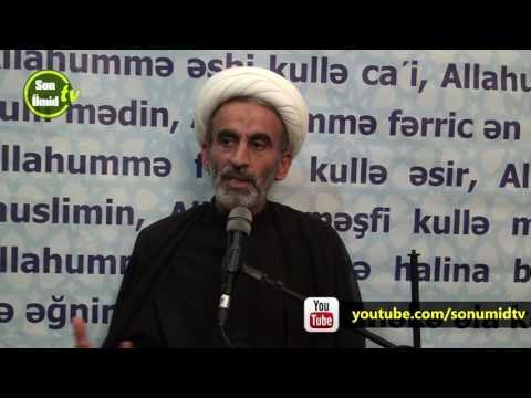 Hacı Əhliman Ramazan 3-cü Qədr gecəsi 2017