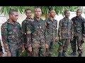 Tentara Nyanyi Lagu Tanah Papua  Hitam Kulit Keriting Rambut Aku PAPUA