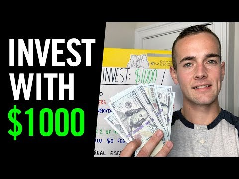 How To Invest $1,000 💸 7 Ways To DOUBLE Your Money In 2020