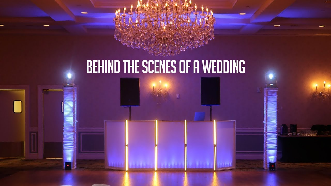 DJ GIG LOG: Behind the Scenes of Wedding from a Wedding DJ  How I How I  setup/run Weddings