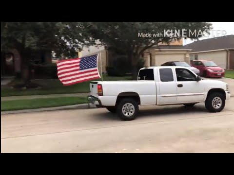 How To Install A Flagpole On Your Truck For Cheap