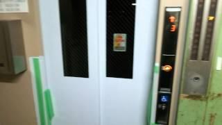 (貴重)三菱エレベーターと東芝エレベーターの並び①