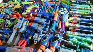 World's Largest Nerf Arsenal/Collection! (For Real)