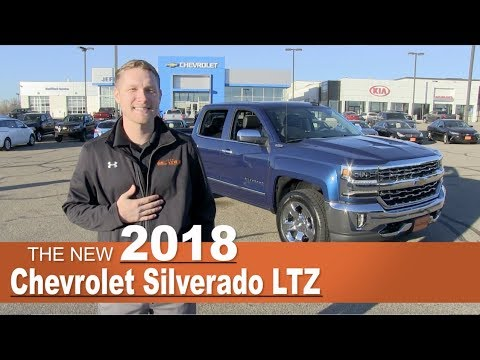 New 2018 Chevrolet Silverado LTZ | Lakeville, New Prague, Minneapolis, St Paul, MN | Jeff Belzers