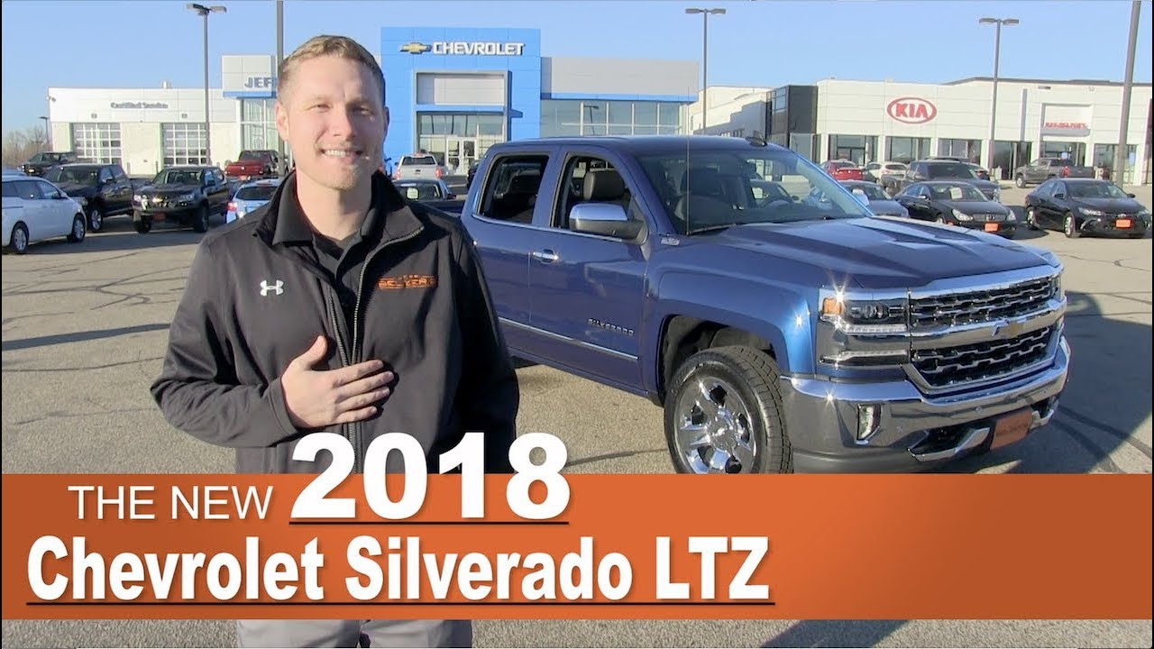 New 2018 Chevrolet Silverado LTZ | Lakeville, New Prague ...