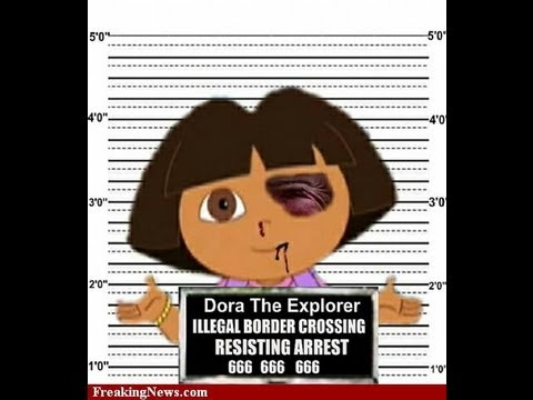 Dora The Explorer Gets Krazy (Parody) (Theme Song vs. Pitbull Mashup)