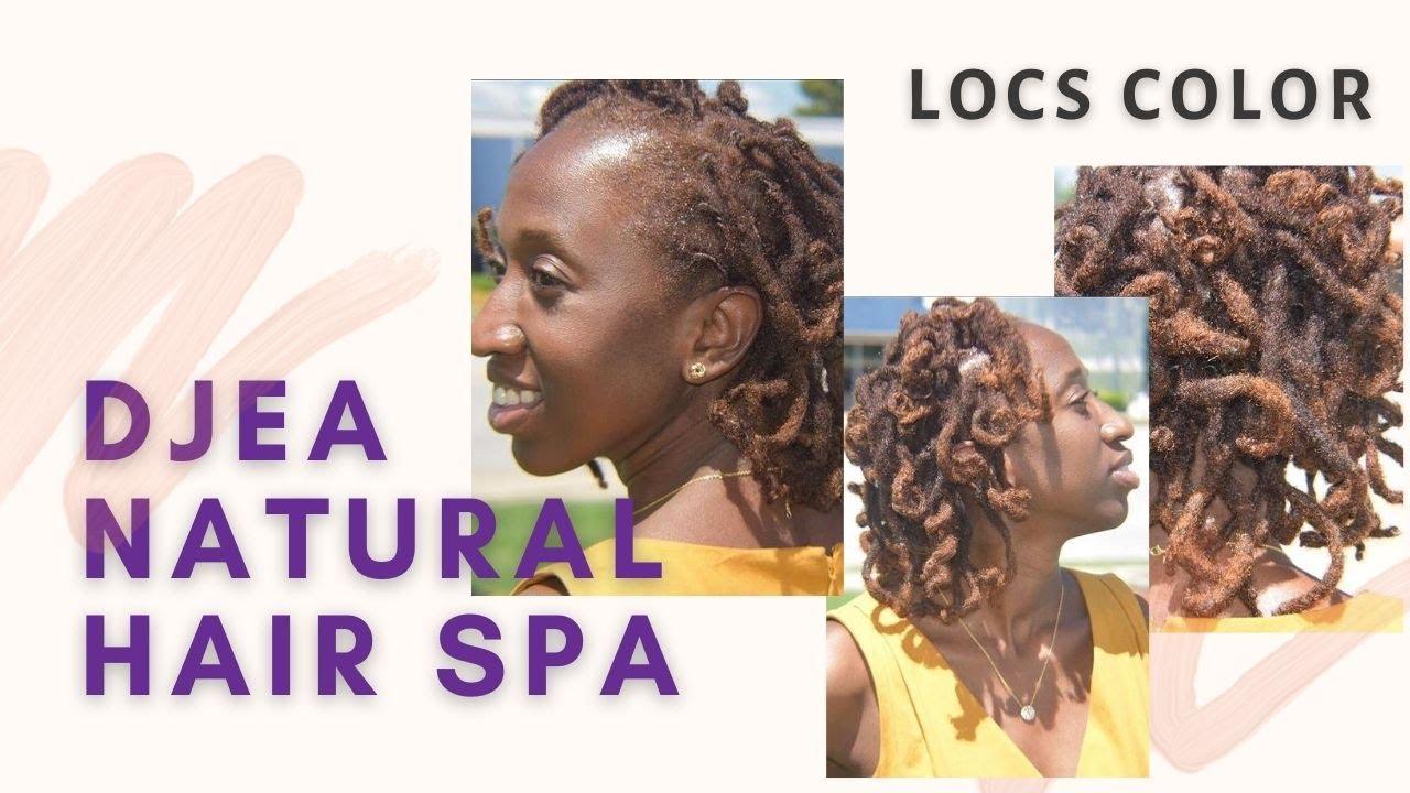 Locs Color    Djea Natural Hair Spa