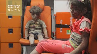 Image of dazed, bloodied Syrian boy encapsulates horror of conflict