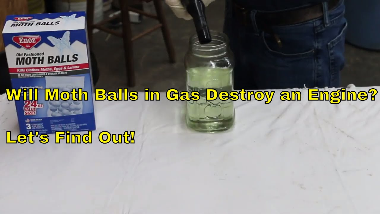 Will Mothballs in Gas Destroy an Engine? Let's Find Out!