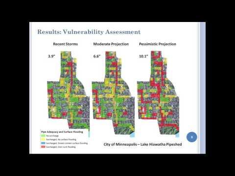 Minnehaha Creek Stormwater Adaptation Study & NOAA's Climate Explorer Tool
