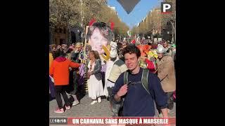 Les images du carnaval sans masque à Marseille