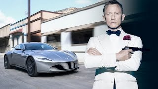 Driving one of only ten Aston Martin DB10s made for Spectre