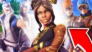 SOLO SQUAD WITH THE SKIN PALIER 100 - Fortnite (Battle Royale)