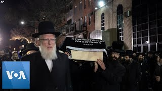 Jewish Community Gathers for the Funerals of Two Jersey City Shooting Victims