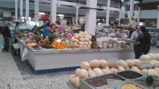 Португалия. Прогулки в городе Сетубал 12. Городской рынок