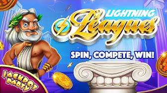 Play Lightning Leagues with Jackpot Party!