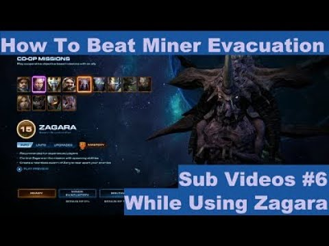 Starcraft 2 How To Beat Miner Evacuation Using Zagara On Brutal Co Op Mission Sub Video 6 Youtube Zagara is now has some legitimately strong static defense! starcraft 2 how to beat miner evacuation using zagara on brutal co op mission sub video 6