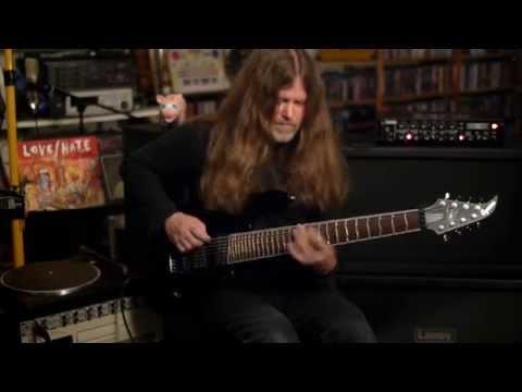 Mattias IA Eklundh's, Caparison Apple Horn 8 Signature Guitar.