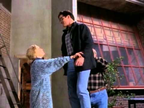 Lois & Clark: Superman learning how to fly (amnesia).