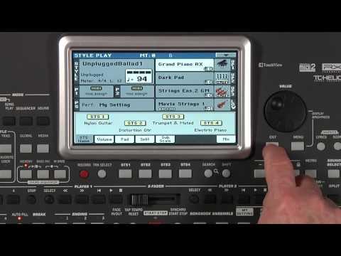 Korg PA900: Sounds