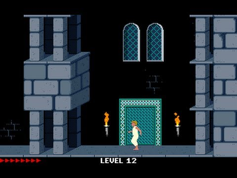 Prince of Persia 1 - Mirrored Levels (Jordan Mechner,) - Level 12a,12b,13