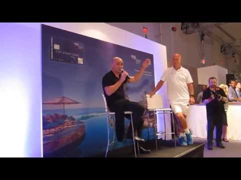 Andre Agassi At The SPG American Express Cardmember Event For The US Open